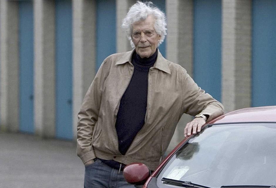 Jimmy van Rompu in 2008 op 88-jarige leeftijd.