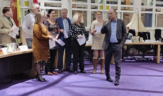 Stichting Kunst en Cultuur Huizen heeft minstens 40.000 euro nodig, 'maar liever 100.000 euro, en wat niet opgaat gaat dan mee naar volgend jaar' [video]