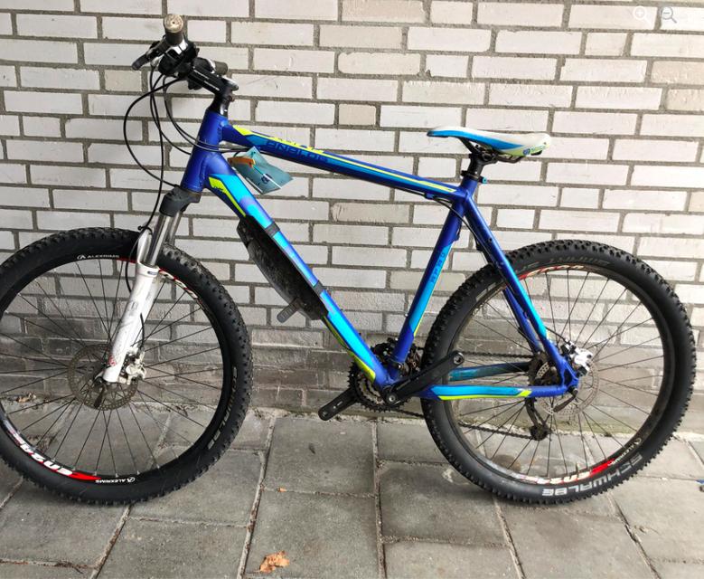Een van de aangetroffen fietsen.