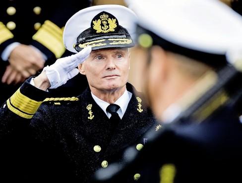 Vice-admiraal Kramer: 'Geen tijd meer te verliezen'