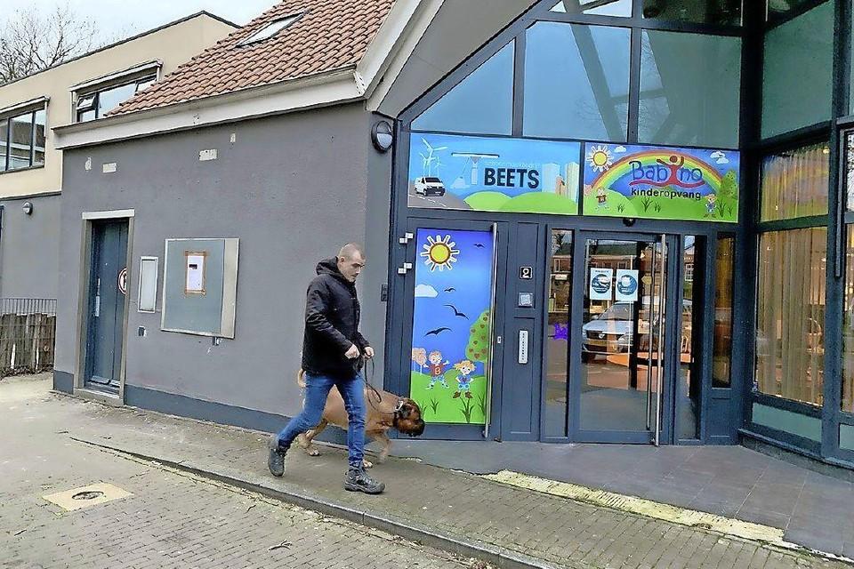 De in januari gesloten geldautomaat.