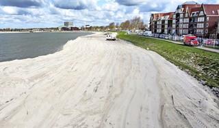 Geen extra strand bij Hoorn, maar een tijdelijke 'werkbaan'