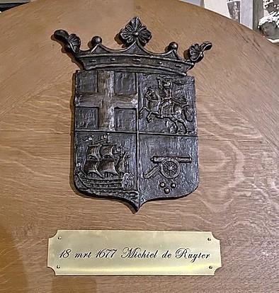 Reportage: afdalen in de graftombe van zeeheld Michiel de Ruyter, meer dan drie eeuwen na zijn dood