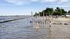Topdrukte verwacht op strand De Strook in Breukeleveen, gemeente roept op niet met de auto te komen