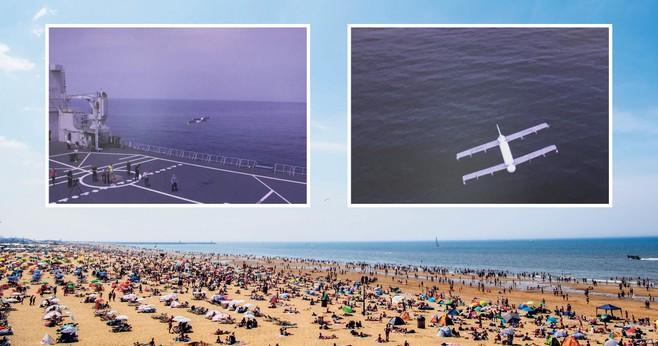 Stelling: Drone op het strand? Veiligheid voorop