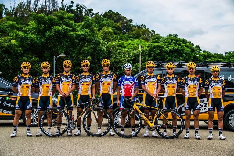 In Taiwan denkt Lennart uit Middenmeer heel vaak: 'hé, die rijdt op een racefiets die ik heb ontworpen'