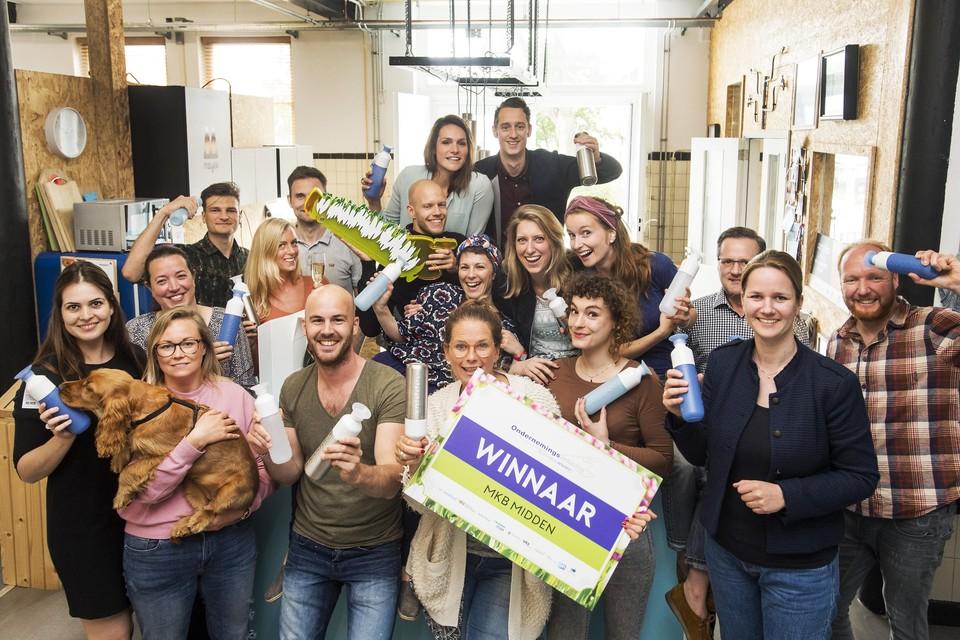 Dopper won in 2017 de ondernemersprijs Noord-Holland