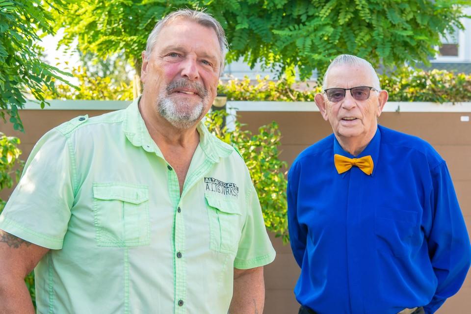 Ed Palermo en Peter de Graaf.