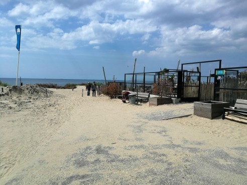Toiletten bij strandtenten langs Noordzeekust mogen open, paviljoens blijven dicht