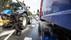 Brandblussers haalden weinig uit, dus komt burger Raymon Heijmans met zijn tractor in actie om een vrachtwagenbrand te blussen op de N414: 'Anders was hij afgefikt'