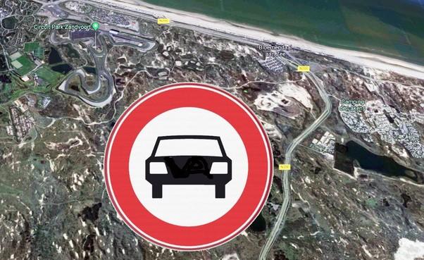 Met auto naar Formule 1 Zandvoort géén optie, alternatief vastgelegd op toegangsbewijs