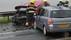 Dode bij frontale botsing in IJmuiden: hulpdiensten massaal aanwezig, weg afgesloten [update]