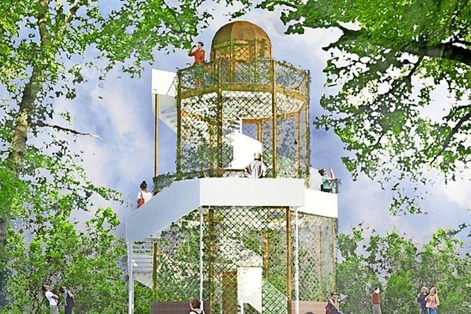 Het oorspronkelijke ontwerp van KPG Architecten.