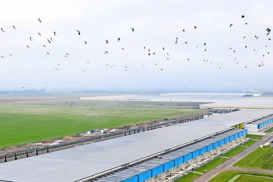 Het datacenter van Google in Middenmeer.