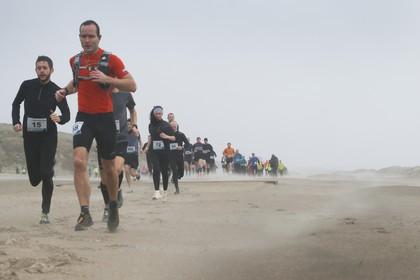 Deelnemers Wijckloop Trail trotseren storm Dennis in kletsnatte eerste editie nieuwe stijl