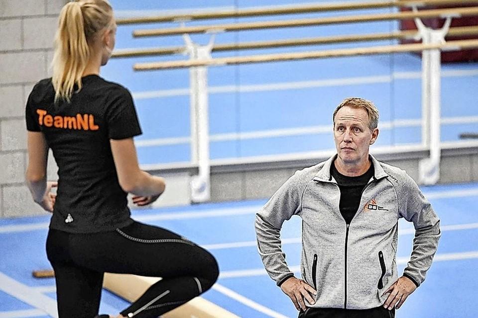 Vincent Wevers met zijn dochter Lieke.