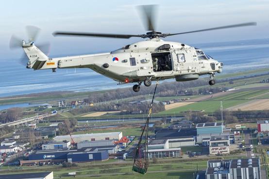 Meer werk en nieuwbouw op De Kooy in Den Helder door komst van alle NH-90 helikopters