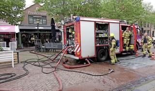 Brand gooit roet in het eten bij restaurant Frederique in Medemblik. Zaak moet deuren voor even sluiten