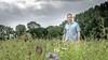In de bloeiende akkerrand bevindt zich het insectenleger van Nanco Lont. 'Natuurlijke plaagbestrijding is de toekomst, je moet er alleen voor open staan'