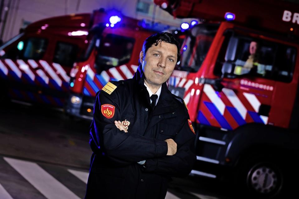 Krishna Taneja, regionaal brandweercommandant en directeur bij de Veiligheidsregio Noord-Holland Noord.