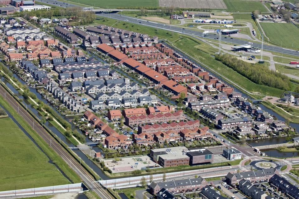 Het Heemskerkse deel van de Broekpolder is de laatste grote wijk die in Heemskerk is gebouwd.