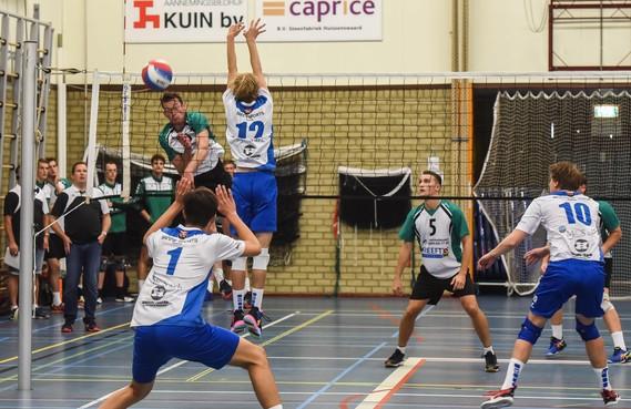 Zaanstad-vrouwen en Compaen-mannen klaar in de volleybalbeker