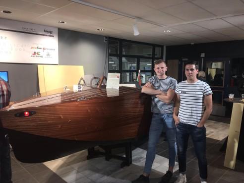 Speedboot van Hillegommer Menno van Gurp in de prijzen