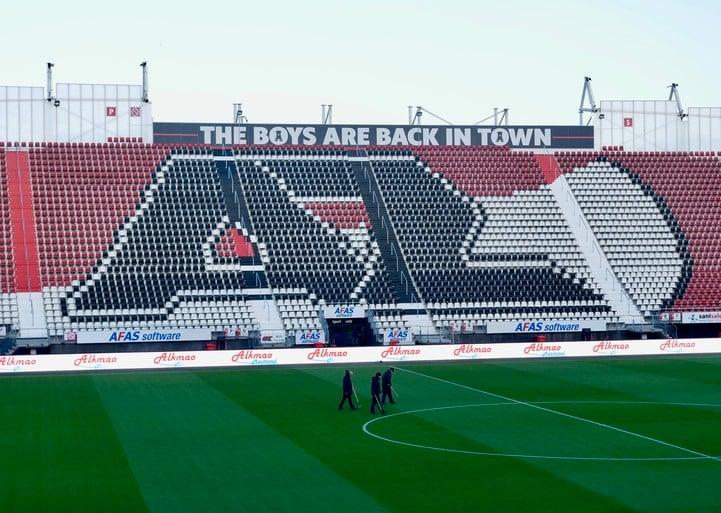 AZ gaat direct na het seizoen aan de slag met bouw van nieuw dak