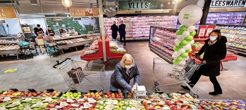 De Dekamarkt in Heemstede.