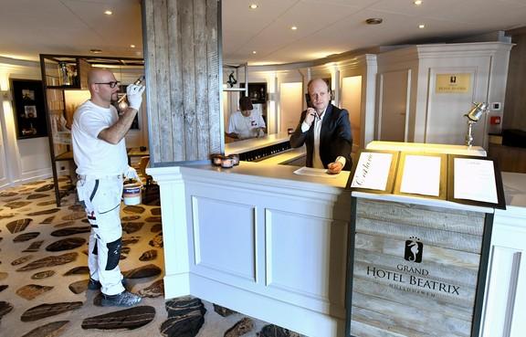Grand Hotel Beatrix Huisduinen gaat helemaal op de schop