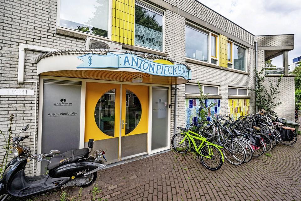 In het Anton Pieckhofje in de Anijsstraat woonden voorheen dementerende ouderen.
