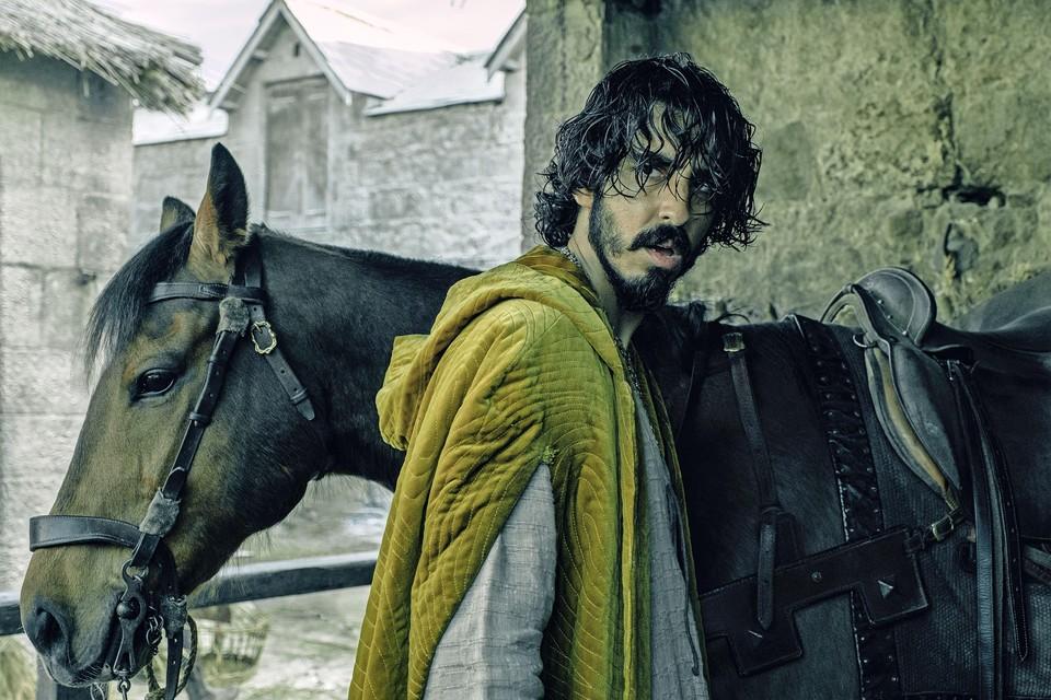 Dev Patel in 'The green knight'.
