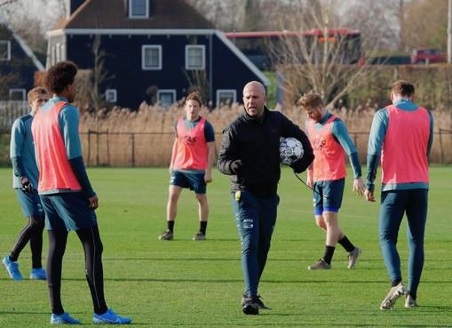 AZ-trainer Arne Slot: 'We hebben een enorme prijs betaald'
