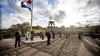 Sobere dodenherdenking op Eerebegraafplaats in Bloemendaal