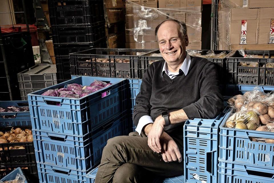 Voorzitter Voedselbank Zaanstreek Hans Brinkhuis.