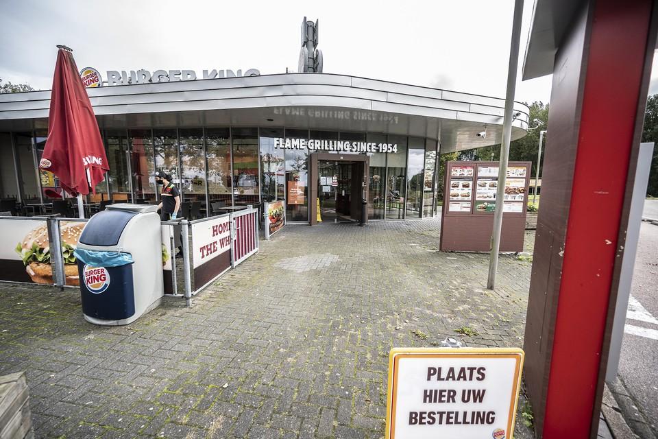 De Burger King in Wijdewormer.
