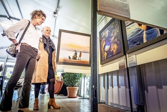 Medische isotopen als inspiratiebron voor tien kunstenaars op Kunst10Daagse Bergen