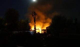 Schuur volledig uitgebrand aan Koningspade in Hoogwoud