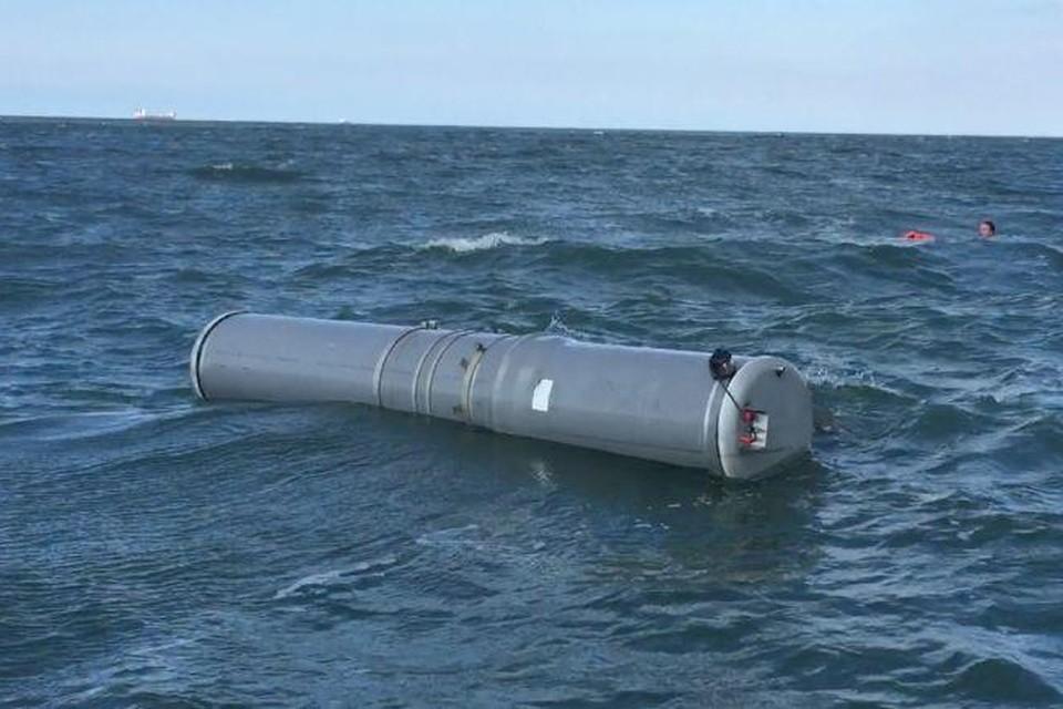 Het prototype dat werd getest voor de kust van Texel.