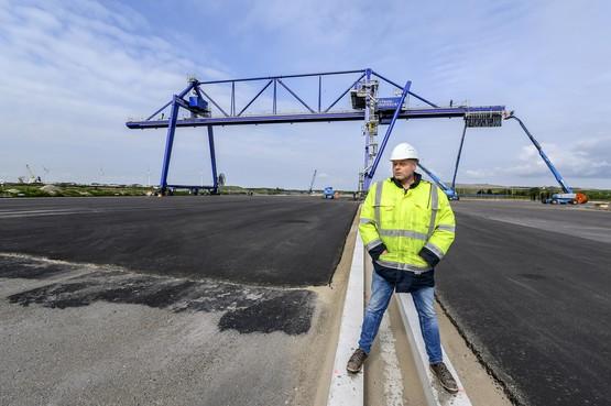Containerterminal CTVrede komt eraan op Hoogtij in Westzaan