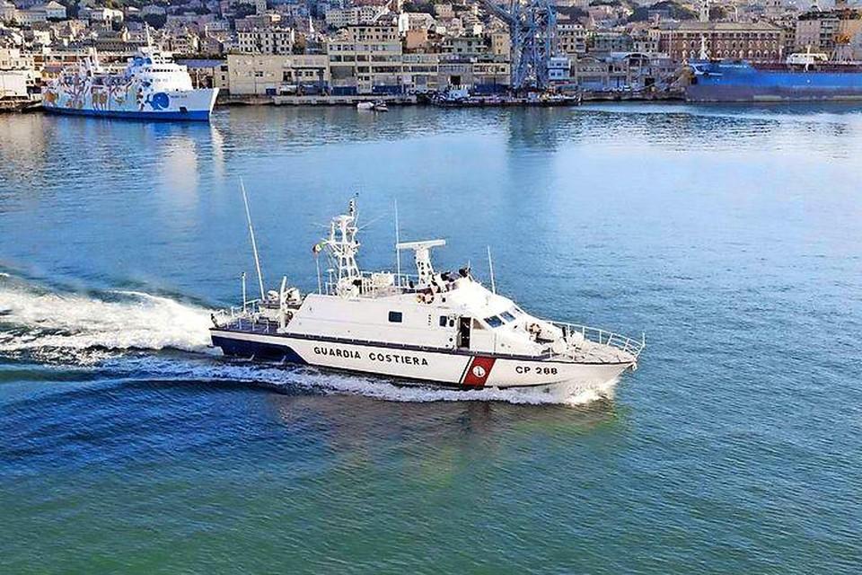 Een schip van de Italiaanse kustwacht, beeld ter illustratie.