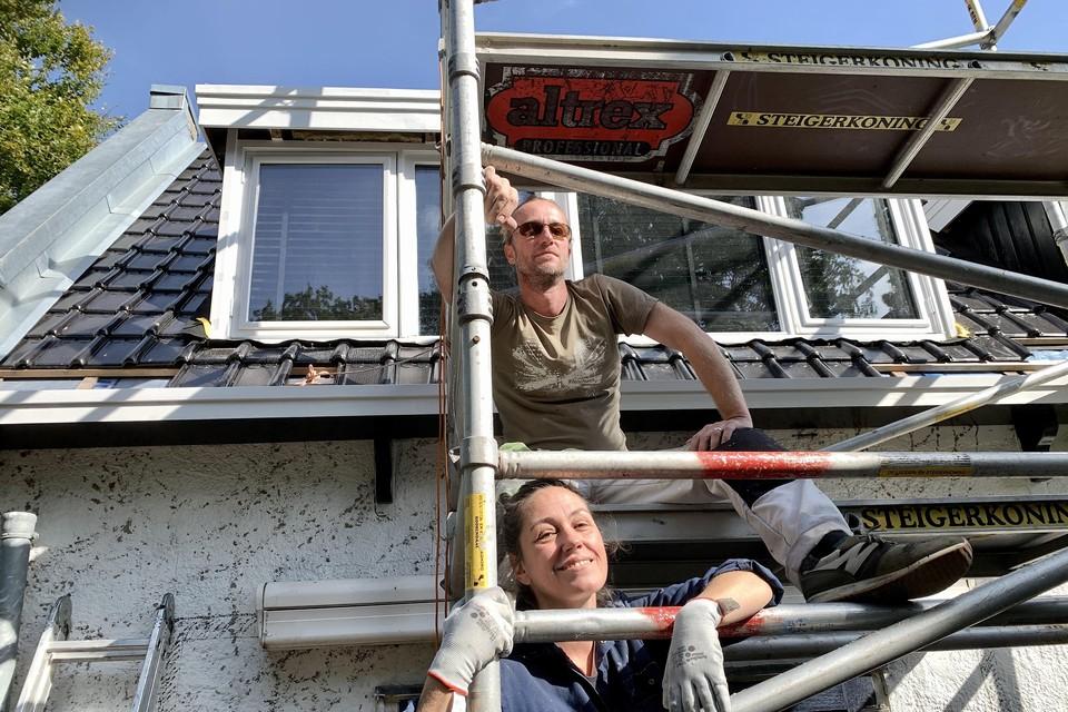 Freya van Maasdijk en Sander Olaf