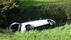 Moeder en dochter crashen in sloot Noord-Scharwoude