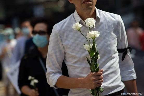 Wake in Hongkong na dood student
