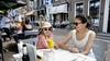 Terrassentest in Muiden: Heerlijk broodje bij brasserie Herengracht met zicht op de monumentale Groote Zeesluis