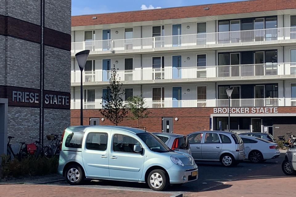 Friese Staete (links) en Broecker Staete.