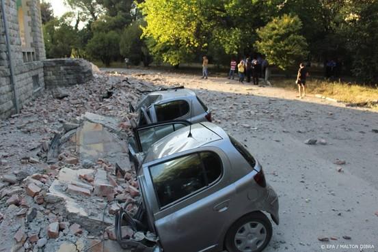 Tientallen gewonden door aardbeving Albanië