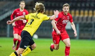 AZ mogelijk zonder middenvelder Fredrik Midtsjø tegen Vitesse