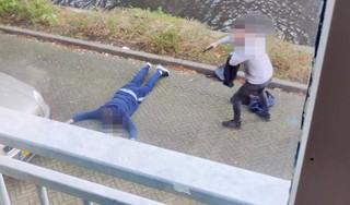 Politie arresteert vuurwapengevaarlijke man in Hoorn [video]