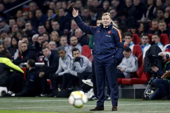 Toen er op 23 maart nog wél gesport werd: slechte start van Ronald Koeman als bondscoach van Oranje